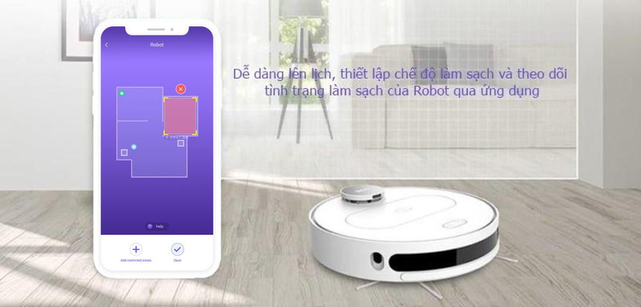 Robot lau nha QIHOO S6