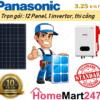 Solar 3.25 kwp Standard