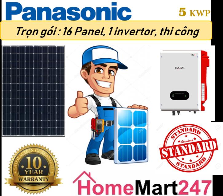 Solar 5kwp Standard